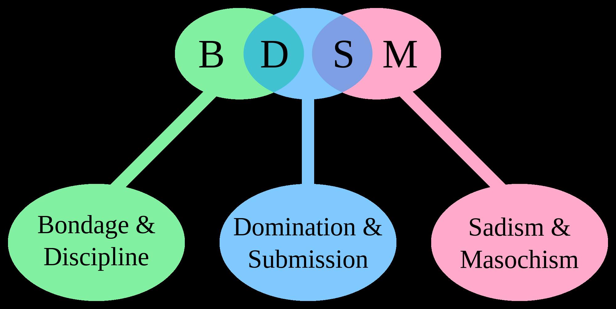 Wyjaśnienie skrótu BDSM